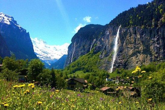 Prachtige watervallen in Zwitserland