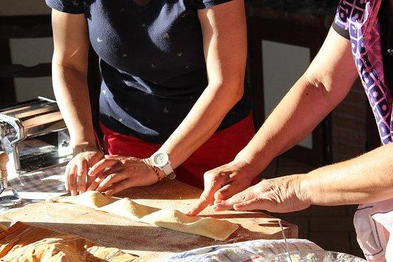 Nous préparons des pâtes...