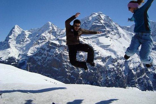 Sneeuwschoentour & Lauterbrunnen ...