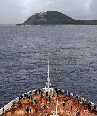 Iwo Jima, Japani: Maasdam view.