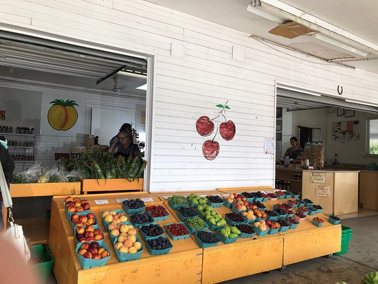 Peach King Fruit Stand