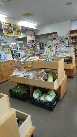 Michinoeki Utonaiko: 野菜もうっています。