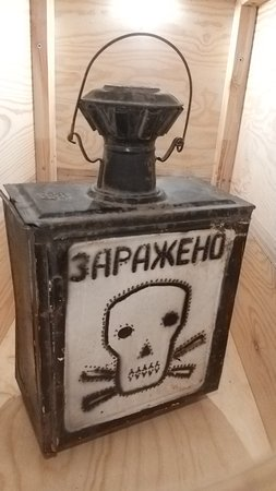 Work lamp during fallout times