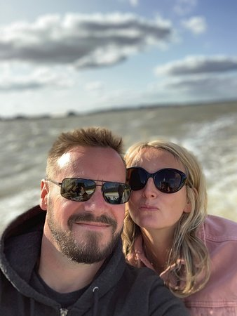 Really enjoyed the  ferry ride across to Harwich