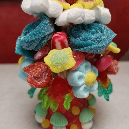Bouches-du-Rhone, Frankrike: Gâteaux de bonbons