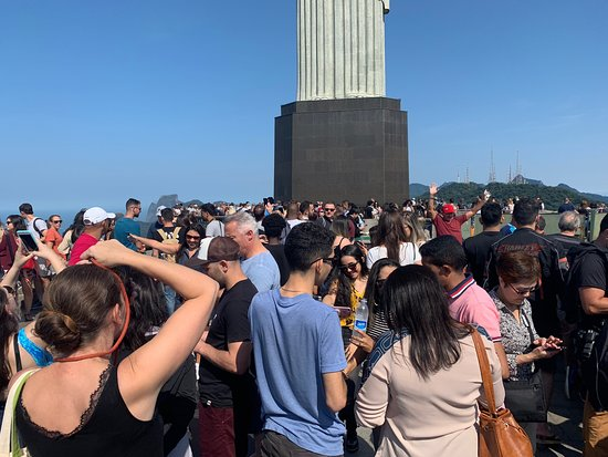 Potret Morning Tour to Christ Redeemer Statue, Sugar Loaf Mountain including Barbeque