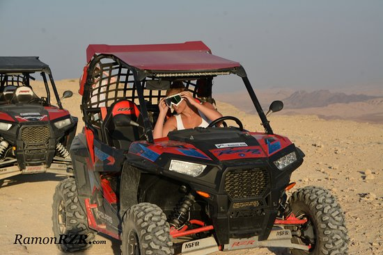 Mitspe Ramon, Izrael: RamonRZR - Experience the desert differently!