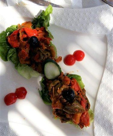 Restaurante El Jaleo: Verduras asadas.
