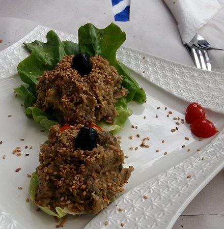 Restaurante El Jaleo: Babagalouch (paté de berenjena)