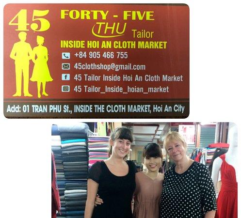 45 Tailor Inside Hoi An Cloth Market