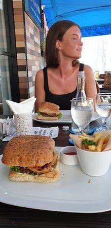 Blue Cafe ภาพถ่าย