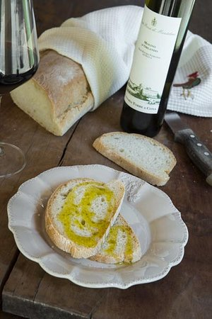 San Donato in Collina, Italien: extre virgin olive oil tasting