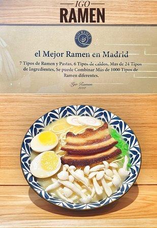Además de un plato típico de Japón, el ramen es un plato genial para los más creativos y atrevidos ya que si eres de estos, probarás tantos sabores de ramen diferentes como quieras 🍲🍜  Y se encuentra al alcance de tu mano 📍 Calle Tudescos, 4, Madrid.