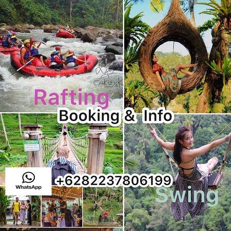 Ubud Bali White Water Rafting Adventure