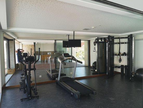 Felgar, Portugal: cozy gym