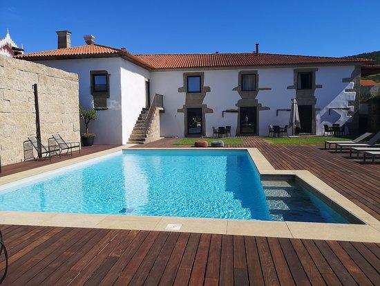 Felgar, Portugal: Pool area