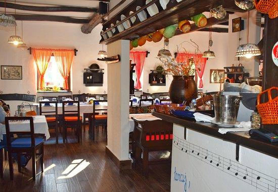 Glozan, Serbia: Enterijer Restorana Studnja.