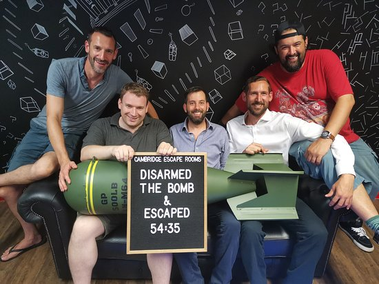 Cambridge Escape Rooms