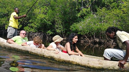 Giro in canoa dopo il pranzo al mida creek
