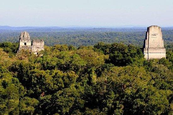 Excursión a Tikal de un día por aire...