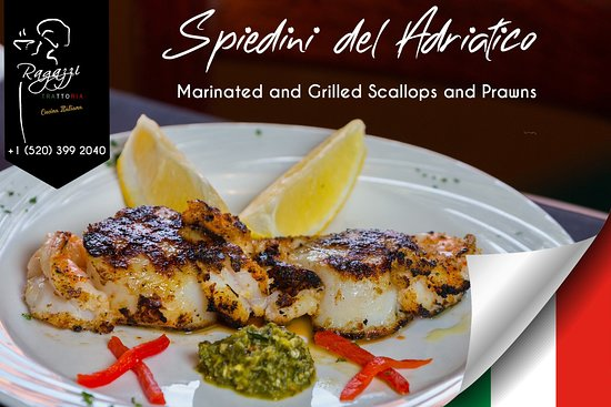 Scallops and Prawns direct from the sea to your plate!