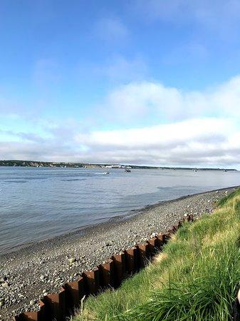 Small beach at Naknek