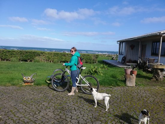 Isla Mocha, Chile: recorriendo en bicicleta