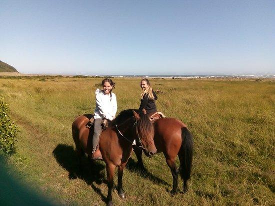 Isla Mocha, Chile: paseo a caballo
