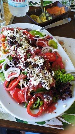 Ottimo cibo tradizionale cretese.