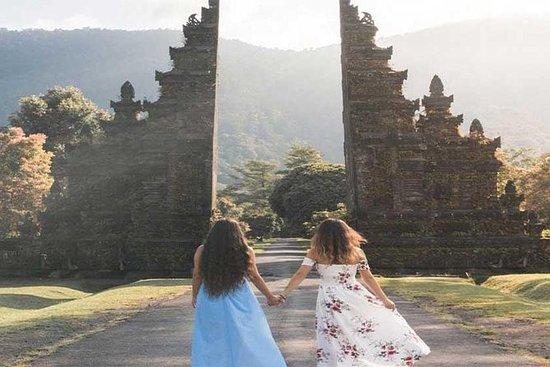 DayTour:Bali Handara heavenGateは、Bedugul…
