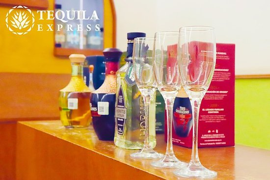 Tequila Express Tequila Tasting