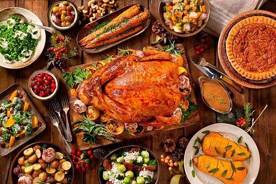 Fiesta de comida en Sosua