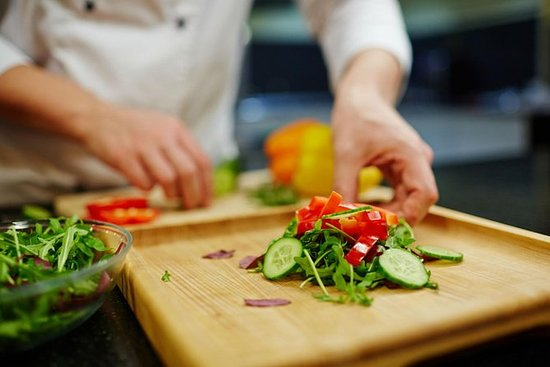 Lezione di cucina: dal mercato alla
