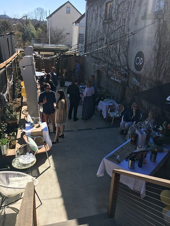 Tailor made functions in the terrace