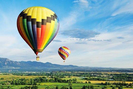 Varmluftsballong i Sigiriya