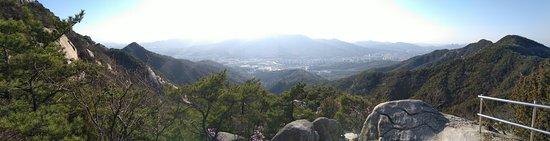 Towards Seoul city.