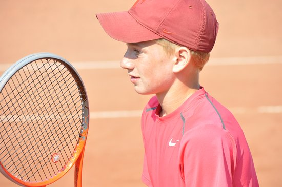Hallevik, Sverige: Här kan du spela tennis på 4 fina grustennisbanor.