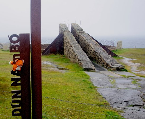 Ballina, Ierland: The Vault of Heaven at Annagh Head   ///trolleys.exercises.scribble A safe viewing platform for a remote natural blowhole that echoes the central chamber of the Carrowmore megalithic cemetery