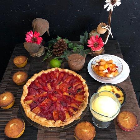 Desserts et plats du jour