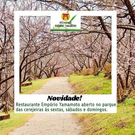 Restaurante agora no Parque das Cetejeiras