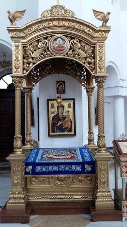 Caransebes, Romania: Interno. Cattedrale ortodossa