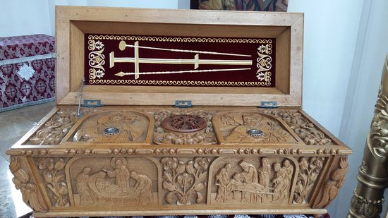 Caransebes, Romania: Urna. Cattedrale ortodossa