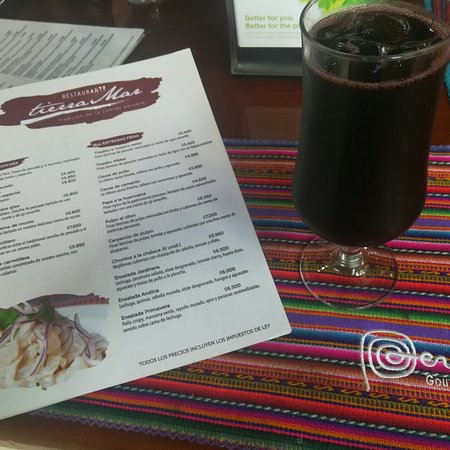 San Juaquin, Costa Rica: Restaurante Tierra Mar, ubicado en San Joaquín de Flores, comida peruana, delicioso, con excelente atención, super recomendado, precios variables