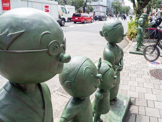 Sazaesan Family Statue