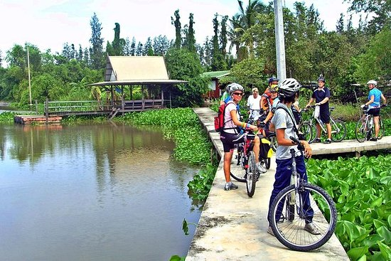 Pedal the Day away around Nonthaburi and Koh Kret: Full-Day Koh Kred and Nonthaburi Cycling Adventure from Bangkok