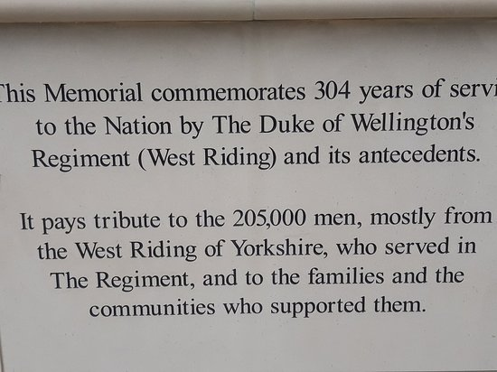 Duke of Wellington's Regimental Memorial