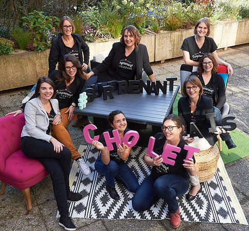 L'équipe accueil de la Team Suprenant Choletais vous attend, avec le sourire :)