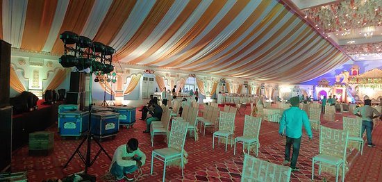 Wedding Banqueting in our Resort
