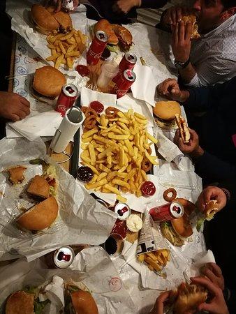 Corner Burger-bild