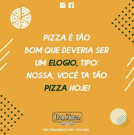 Pizza é tão bom né!? Quem aí concorda?  🍕